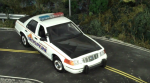 1/18 Alaska State Troopers Ford Crown Victoria with Flashing Lights & Siren